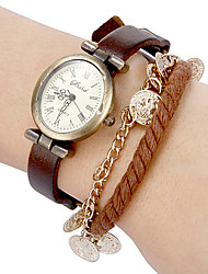 baratos -Mulheres Bracele Relógio Venda imperdível Banda Boêmio Preta / Azul / Marrom