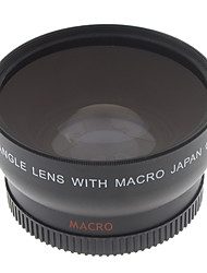 52mm 0.45x bred vinkel macro HD Conversion linse til Canon EOS Rebel