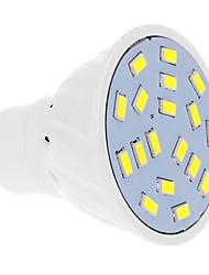cheap -570 lm GU10 LED Spotlight 18 leds SMD 5630 Warm White Cold White AC 220-240V