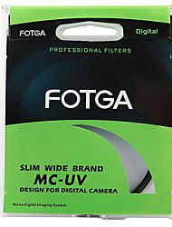 fotga® 62 milímetros ultra slim Pro8 mc UV revestido multi-ultra-violeta filtro protetor de lente