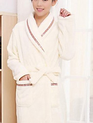 cheap -Fresh Style Bath Robe, Solid Superior Quality 100% Polyester Woven Plain Towel