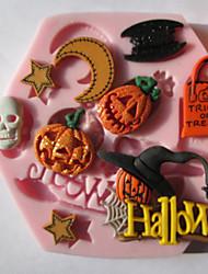 billige -1pc Silikon Økovennlig Kake Til Småkake Sjokolade Cake Moulds Bakeware verktøy