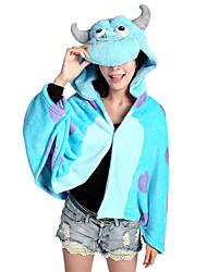 Kigurumi Pyjamas Monster Kostume Koralfleece Kigurumi Trikot / Heldragtskostumer Cosplay Festival / Højtider Nattøj Med Dyr Halloween