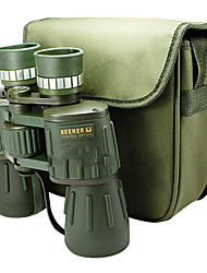SEEKER 10X50 mm Binoculars Wide Angle BAK4 Fully Coated 115m/1000M Central Focusing