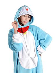 Kigurumi Pyjamas Anime Kostume Koralfleece Kigurumi Trikot / Heldragtskostumer Cosplay Festival / Højtider Nattøj Med Dyr Halloween