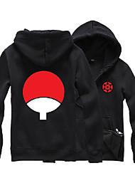 preiswerte -Inspiriert von Naruto Sasuke Uchiha Anime Cosplay Kostüme Cosplay Hoodies Druck Langarm Top Für Unisex