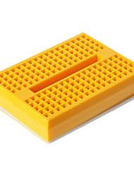 preiswerte -Mini Breadboard - Gelb (46 x 35 x 8,5 mm)