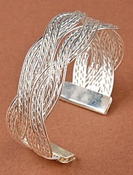 Women's Fashion Stylish Twist Weaving Bangle Bracelet Gifts