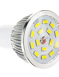 cheap -GU10 LED Spotlight 15 leds SMD 5730 Dimmable Warm White 100-550lm 2700-3500K AC 220-240V