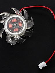4cm Plastic Graphics Fan