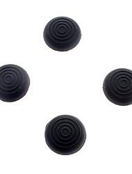 preiswerte -Gel Grip Thumb-Stick Kappen für PS4 Controller (schwarz)