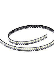 DIY 3528SMD 1000-2500MCD 3000-3500K теплый белый свет Светодиодные Чип (2.8-3.6V/100pcs)