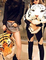 Vivid Padrão Tiger Nylon Kigurumi Bag