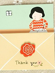 """Dear Mom"" Tri-fold Greeting Card for Mother's Day"
