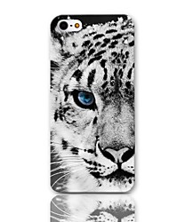 For iPhone 7 7 Plus 6s 6 Plus SE 5s 5 4s 4 Case Tiger Pattern Hard Case with 3-Pack Screen Protectors