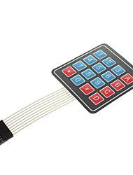 Tastiera a membrana 4 * 4 Matrix Tastiera Tastiera microcontrollore esterno