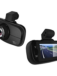 2.7 pollici 140 gradi grandangolare View Car DVR Super Night Vision con microfono incorporato