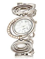 baratos -Mulheres Relógio de Pulso Banda Amuleto Prata
