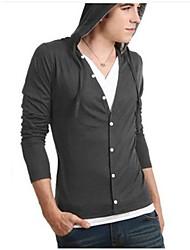 mænds afslappet mode v hals langærmet sweater