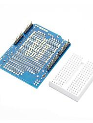 abordables -prototipo de escudo + Mini tablero para (para arduino) (trabaja con oficiales (para Arduino) Tablas)