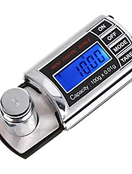 Mini 0.01G 100G Digital Scale Lcd Pocket Jewelry Diamond Electronic Portable Weight Scales