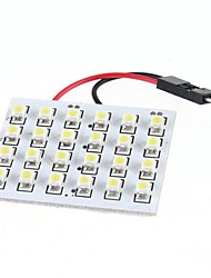 cheap -24 1210 White SMD LED Light Panel Car Interior Dome Lamp Bulb