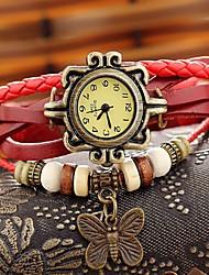 cheap -HEBE Women's Vintage Flower Watchhand Watch