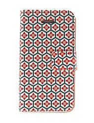 Недорогие -Kinston соты решетки шаблон PU кожаный чехол для Iphone 7 7 плюс 6s 6 плюс SE 5с 5с 5 4s 4