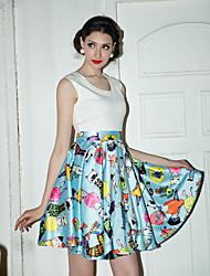 TS Vintage Ispis Swing Dress