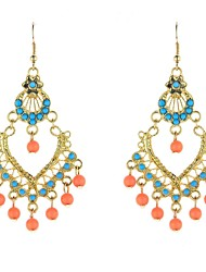 Women's Drop Earrings Dangle Earrings Bohemian Costume Jewelry Acrylic Resin Alloy Jewelry For Party Daily Casual