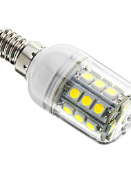 3W E14 LED Corn Lights T 27 SMD 5050 350-400 lm Cold White 6000-6500 K Dimmable AC 220-240 V