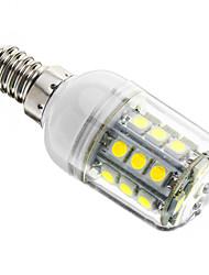billige -3W 350-400 lm E14 LED-kolbepærer T 27 leds SMD 5050 Dæmpbar Kold hvid AC 220-240V