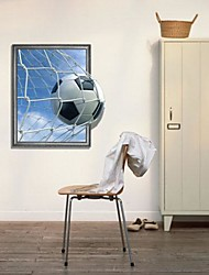 cheap -3D World Cup Football Wall Decals Wonderful Goal Wall Stickers