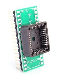 Недорогие -PLCC32-EP1M в DIP32 для MCU сиденья и IC модуль проверки сиденья адаптер