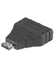 Combo eSATAp Power over eSATA USB 2.0 to eSATA & USB splitter Adapter 1 in 2 new