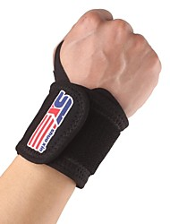 cheap -Monolithic Sport Gym Elastic Stretchy Wrist Guard Thumb Loop - Free Size