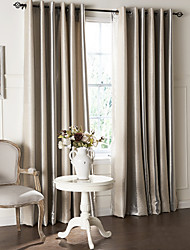 cheap -Curtains Drapes Living Room Contemporary Polyester Embossed