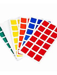 Недорогие -6шт длительного набор наклеек для 3x3x3 волшебный кубик