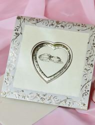 Piegato in alto Inviti di nozze 50-Invito Cards Classico Carta satinata 15*15cm