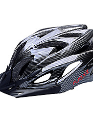 cheap -FJQXZ EPS+PC Black Integrally-molded Cycling Helmet(18 Vents)