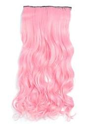 Недорогие -Классика Расширения человеческих волос Розовый Классика Высокое качество Повседневные