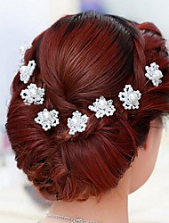 Two Pieces Pearls Wedding/Special Occasion Hairpins