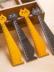 cheap -Cat Shape Wooden Ruler
