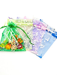 cheap -Creative Organza Favor Holder With Ribbons Favor Bags-12 Wedding Favors