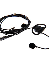 cheap -FINGER-TICK 03 Motorcycle Finger Controlled Earphone for Two Way Radio BaoFeng Wanhua Wouxun- Black