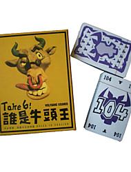 Недорогие -Take 6 картона игра для всех возрастов Puzzle игрушки (104-карта)