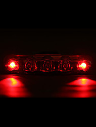 cheap -Rear Bike Light / Safety Light / Tail Light LED Bike Light Cycling Waterproof, LED Light AAA Battery Cycling / Bike - MOON / IPX-4