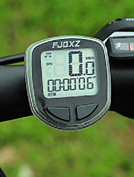Bike Computer,FJQXZ High Quality Waterproof Wired Black Bicycle Speedometer/Stopwatch