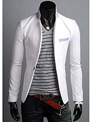 economico -colore di contrasto lon casuale vestito del manicotto degli uomini di zj.sm