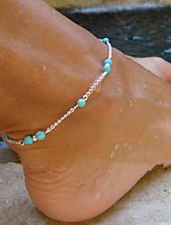 abordables -Bracelet de cheville / Bracelet Alliage Personnalisé Original Fait à la Main Mode Européen Bracelet de cheville Autres Bijoux Pour Soirée